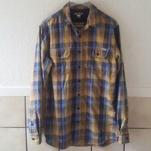 Eddie Bauer flannel shirt  men's size medium tall